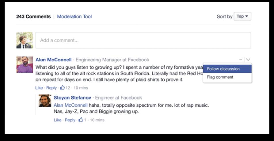 Engagement visiteurs sur site internet avec plugin Commentaire Facebook